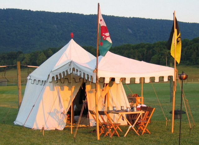 Square Marquis with splayed walls & General Tent Designs